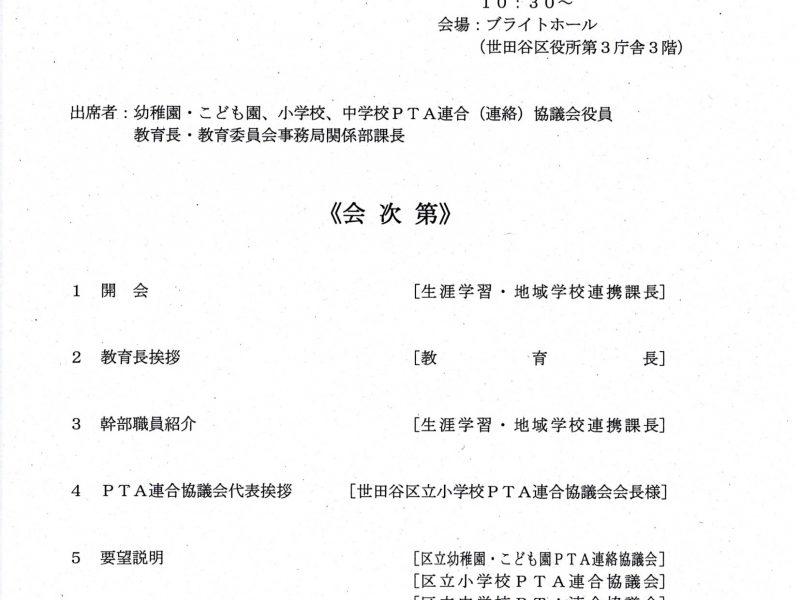 2019/9/27 要望書提出の会